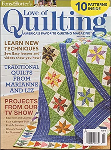 Fons & Porter's Love of Quilting Magazine May/June 2015: Amazon ... : love of quilting tv show - Adamdwight.com