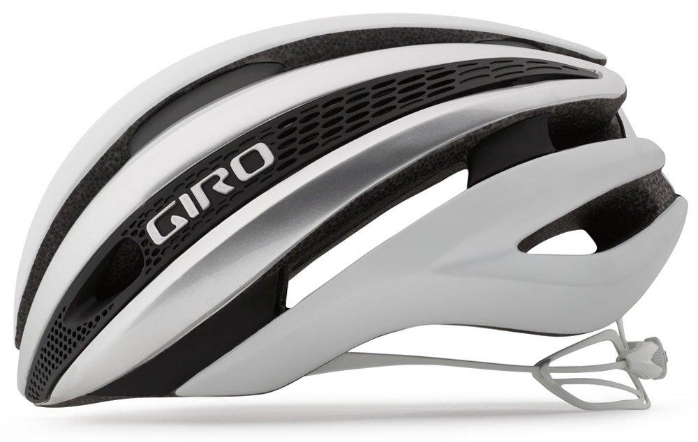 Giro Synthe Helmet, Matte White/Silver, Medium by Giro (Image #2)