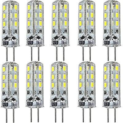 Rokoo Ampoules LED G4 KINGSO de 10 PCS 1,5 W