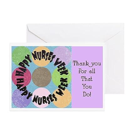 Amazon Cafepress Nurse Week May 6th Greeting Card 10 Pack