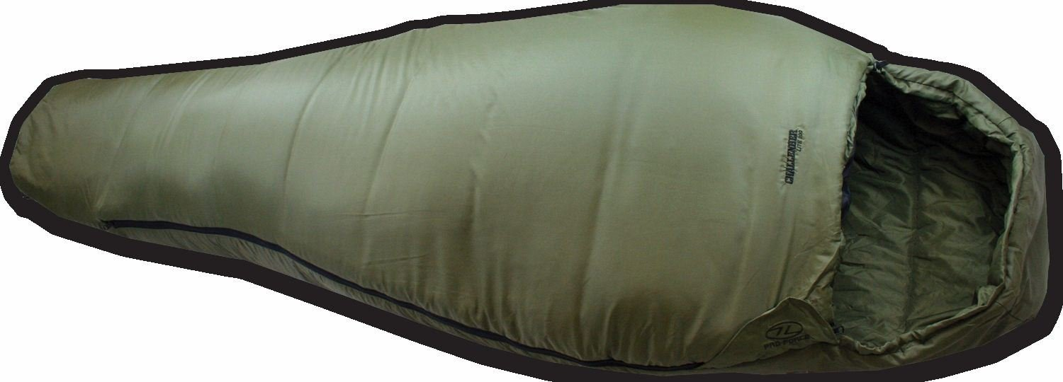 Highlander Challenger Lite 200 Warm 3-4 Season Mummy Sleeping Bag