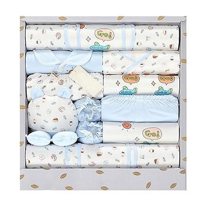 Luerme - Juego de ropa de algodón para recién nacido, 18 piezas ...