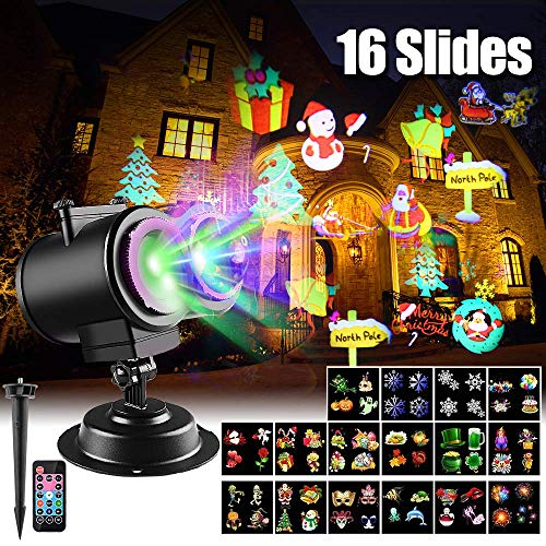 Led 16 Function Motion Christmas Lights in US - 9