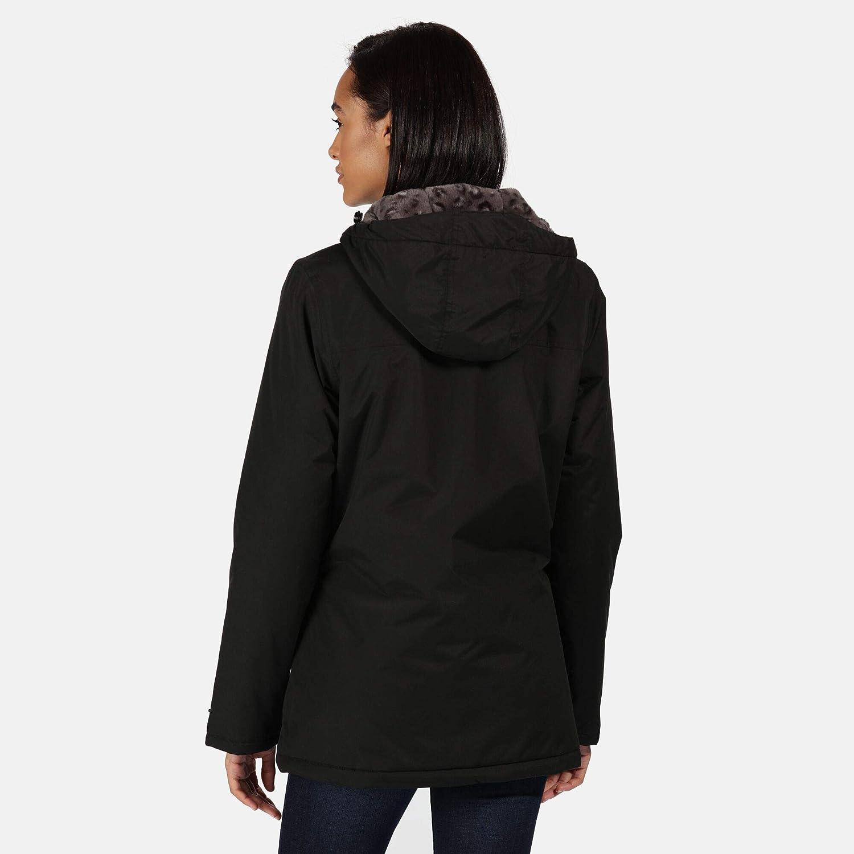 Regatta Bergonia Ii Veste /À Capuche Femme Imperm/éable et Isolante avec Coutures Cousues-coll/ées Jackets Waterproof Insulated Femme