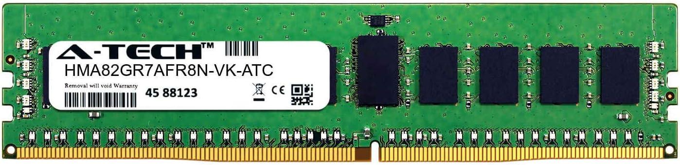 16GB DDR4 2666MHz PC4-21300 RDIMM Hynix HMA82GR7AFR8N-VK Equivalent Memory RAM