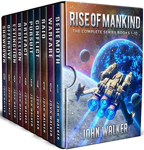 Rise Of Mankind: The Complete Series Books 1-10 by [Walker, John]