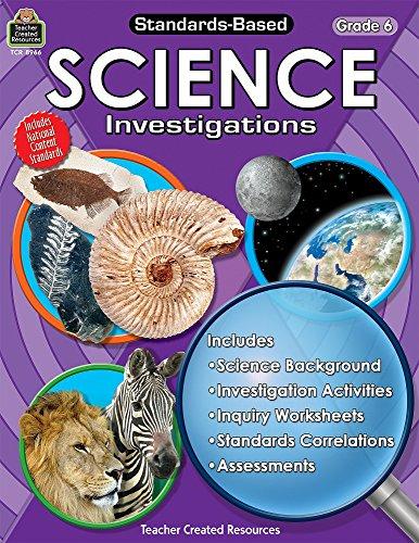 Standards-Based Science Investigations Grd 6