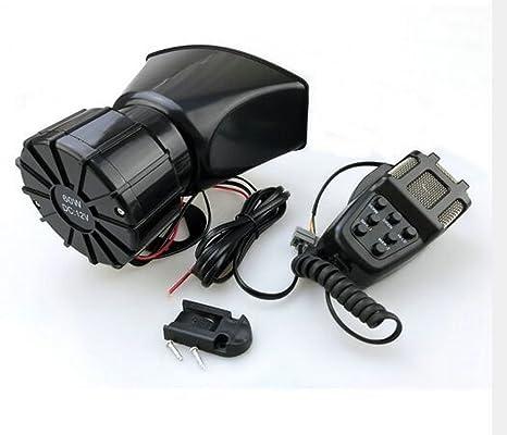 611phL5mDAL._SX466_ amazon com bolaxin 12v 80w 7 tone sound car siren vehicle horn car