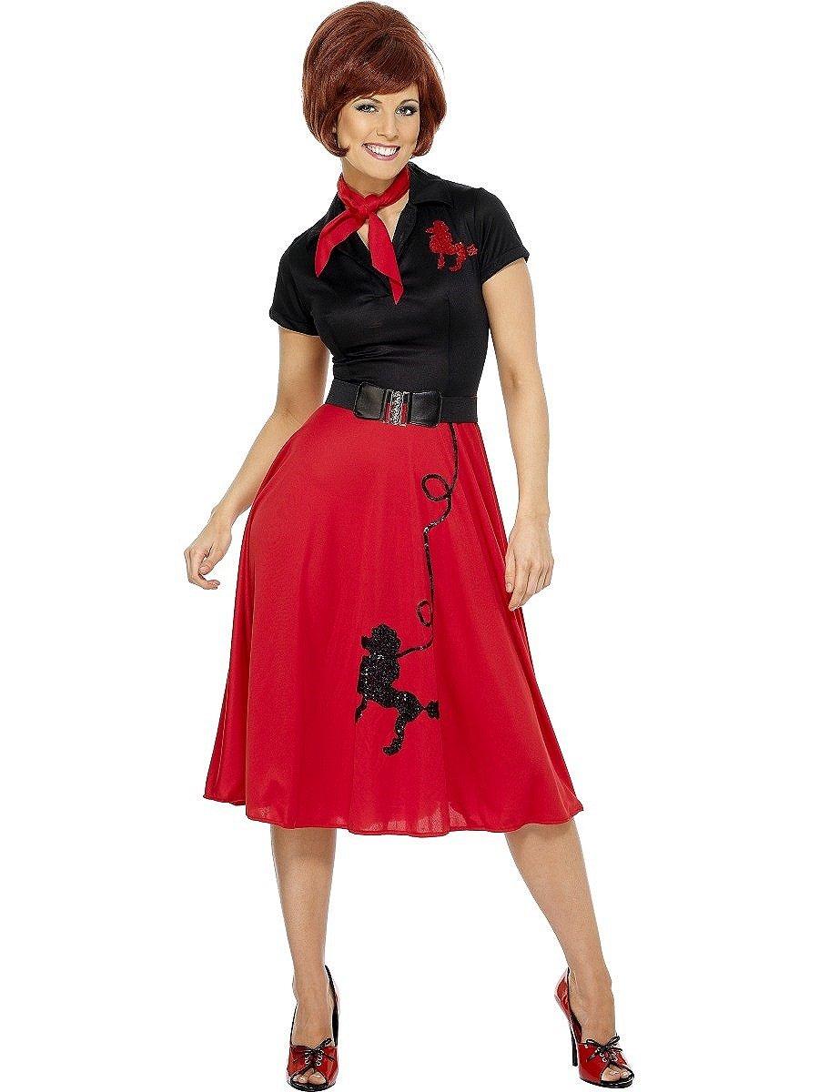 SMIFFYS Costume da ragazza stile anni  50 f1a46dcfccc