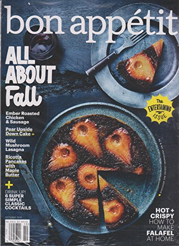 Bon Appetit October 2015 All About Fall - The Entertaining Issue