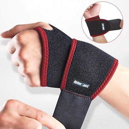 Handgelenkbandage Sport Fitnessbandage Handgelenkstütze Handbandage Wrist Wraps Bekleidung