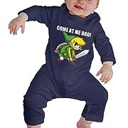 Baby Romper, Legend of Zelda-Come at Me Bro Navy