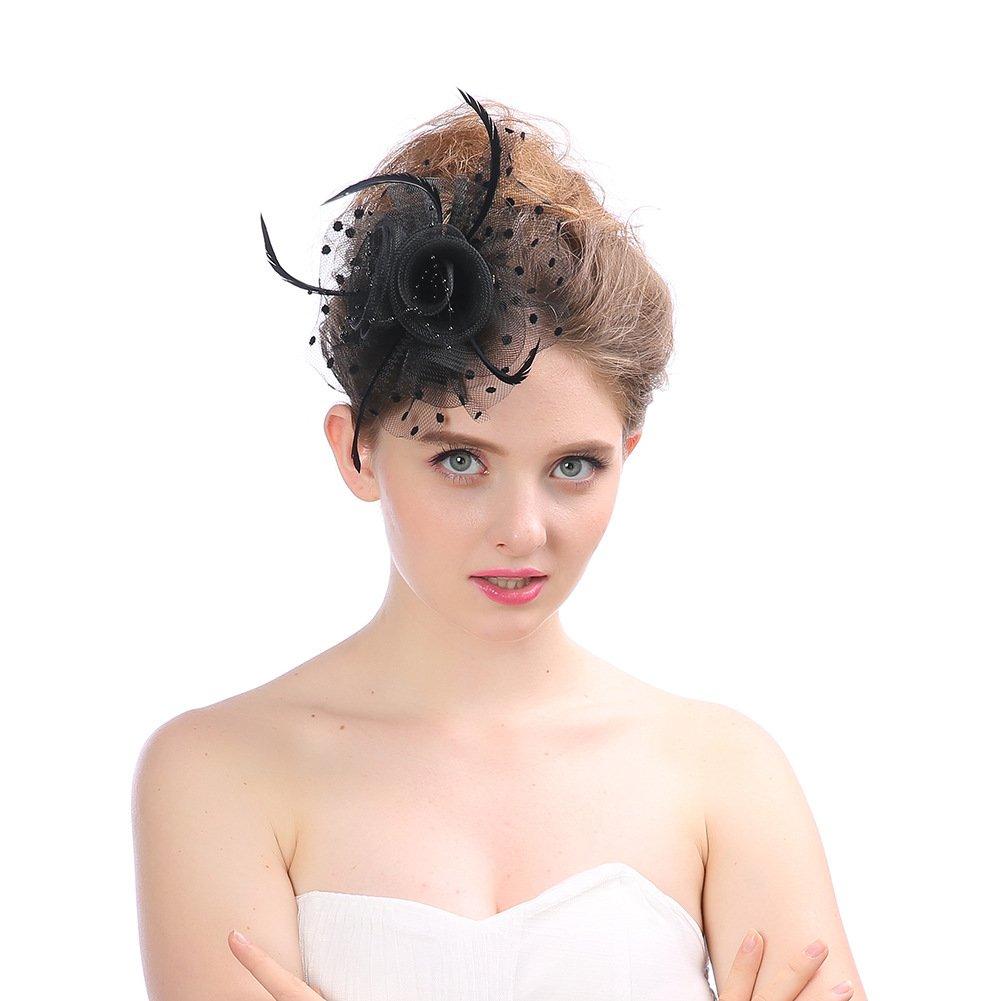 Fei Fei Accesorios para de el Cabello Sombrero Europeo de para la Gasa del Banquete Sombrero de la Forma de la fotografía de la Boda de la Tiara Nupcial para la señora hacerte Belleza Diferente 214e22