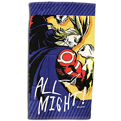 Great Eastern Entertainment My Hero Academia Anime All Might No.1 Hero Bath Towel: Clothing