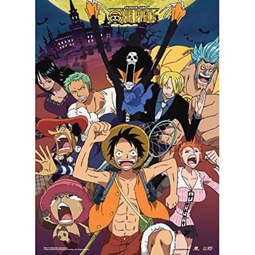 One Piece Run Wallscroll Anime Posters