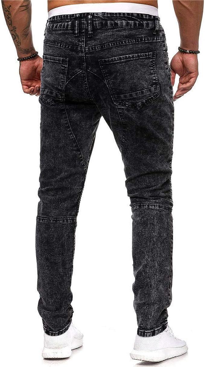 Givekoiu Pantalones Transparentes, Tinte de Jeans para ...