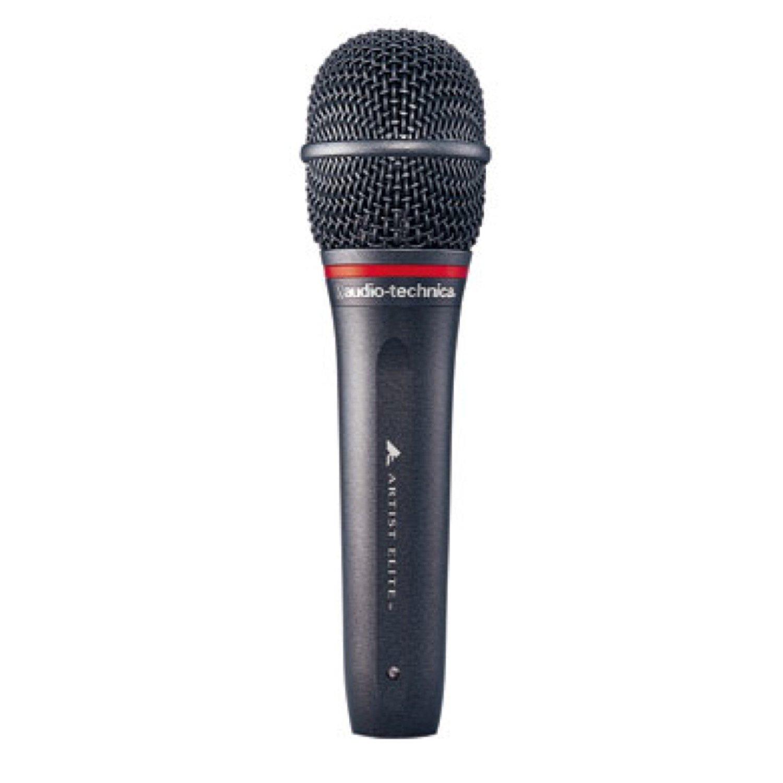 AUDIO-TECHNICA AE4100 ハンドヘルド ダイナミックマイクロフォン B00LIVPTW4