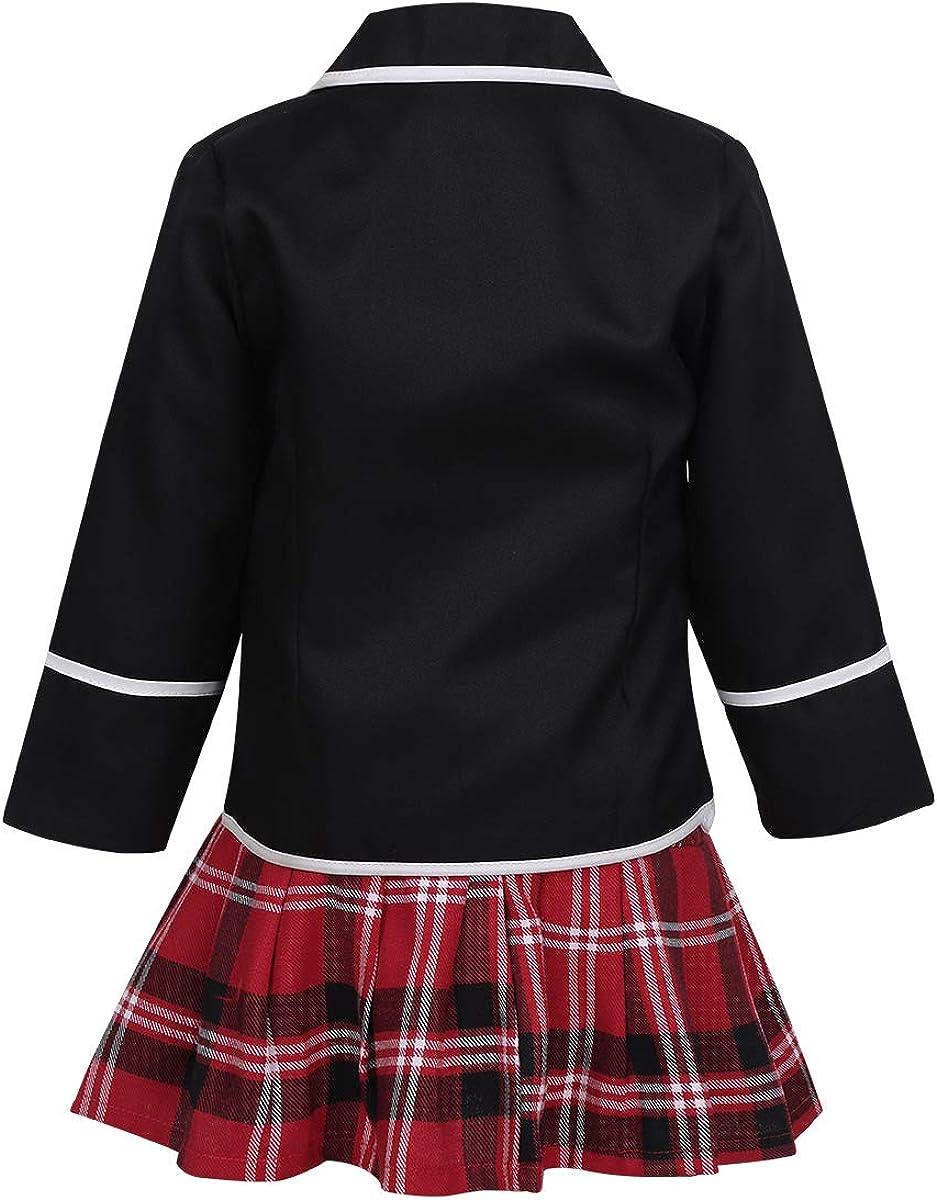 Amazon.com: Subottn Kids Girls Classic Japanese Korean School