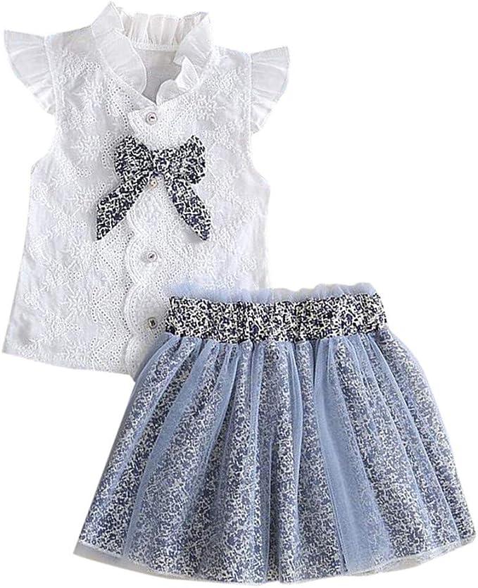 Haarband Kleinkind Baby Winter Kleidung Set 0-2 Jahre Baby M/ädchen Outfit Set 3 St/ück Einfarbig Falten Strampler Blumendruck Hosen