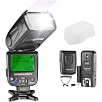 Neewer NW620 Manual LCD Display Flash Speedlite Kit for Canon Nikon and Other DSLR Cameras,Includes:NW620 GN58 Flash,Hard Diffuser,CT-16 Wireless Trigger