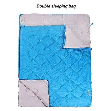 MUTANG Saco de Dormir Doble Pareja Adulto al Aire Libre Invierno Grueso Recién Nacido Familia Anti