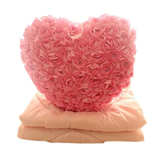 Super suave manta cojín Cute corazón manta algodón manta ...