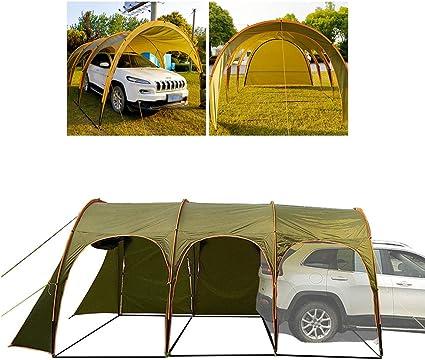 RLQ Tienda De Túneles De Camping, Toldo De Cubierta Familiar ...