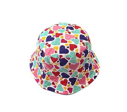 8b10f3edb91a Stillshine Chapeau de soleil pour enfants Chapeau de pêche de coton de  fille de chapeau de