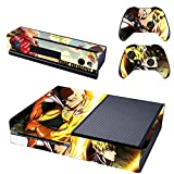 Vanknight Vinyl Decal Skin Sticker Cover Saitama Genos for Xbox One Console Kinect 2 Controllers One Punch-Man