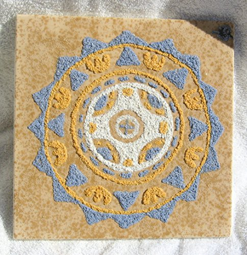 Handmade clay trivet. Clay Trivet