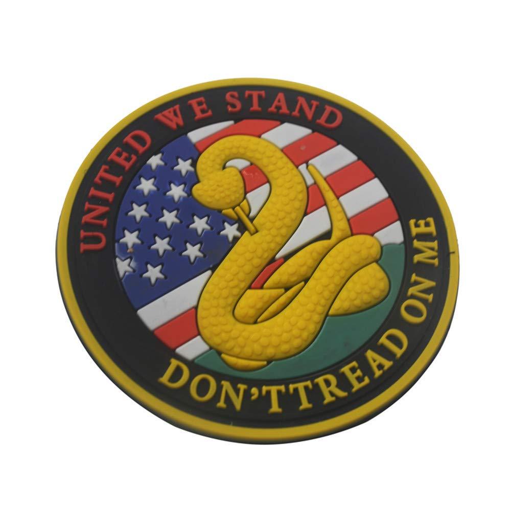 Amazon.com: XUANOU Parche de serpiente táctico bandera ...