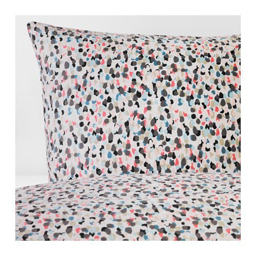 Ikea Smastarr Full/Queen Duvet Cover and Pillowcases Dotted Multicolor 403.377.26