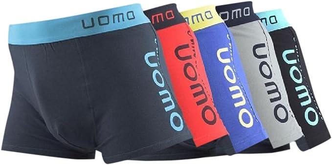 5 Pack – Calzoncillo tipo bóxer para hombre Boxer Pantalones Cortos multicolor XXXL: Amazon.es: Ropa y accesorios