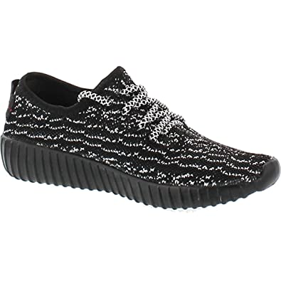 284fb69a2a82 Forever Shoes Women s Remy-9 Black Black Unisex Couple Casual Fashion  Sneakers Breathable Athletic