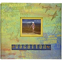 K&Company Happy Trails Postbound Album, 12-Inch-by-12-Inch, Vacation
