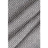 nuLOOM Lorretta Hand Loomed Area Rug, 5' x 8', Grey