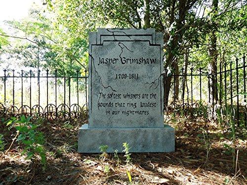 Evil Soul Studios Jasper Grimshaw Tombstone Halloween Prop Decoration Nightmares