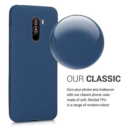 Amazon.com: kwmobile - Funda para Xiaomi Pocophone F1 (TPU ...