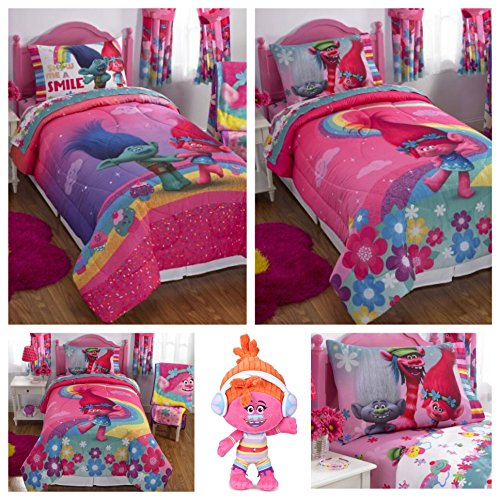 DJ Suki Troll Doll and Trolls Twin Bedding Set - Item 2