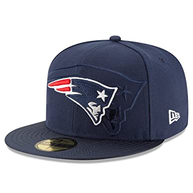 1a3c8ff45a1 New Era New England Patriots 2016 Official NFL Sideline 59fifty Fitted Cap  Mens Navy