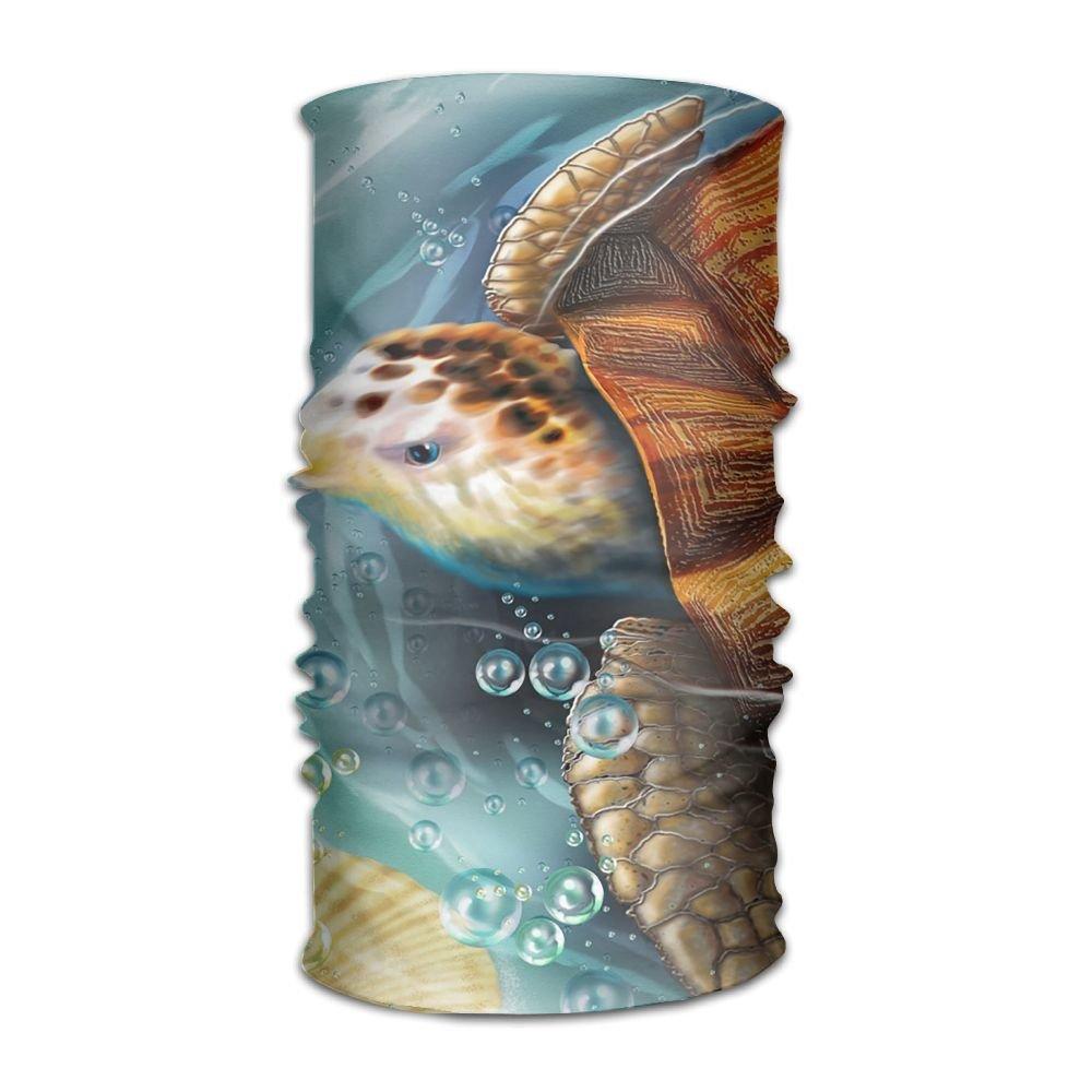 Magic Headwear Sea Turtle Outdoor Scarf Headbands Bandana Mask Neck Gaiter Head Wrap Mask Sweatband