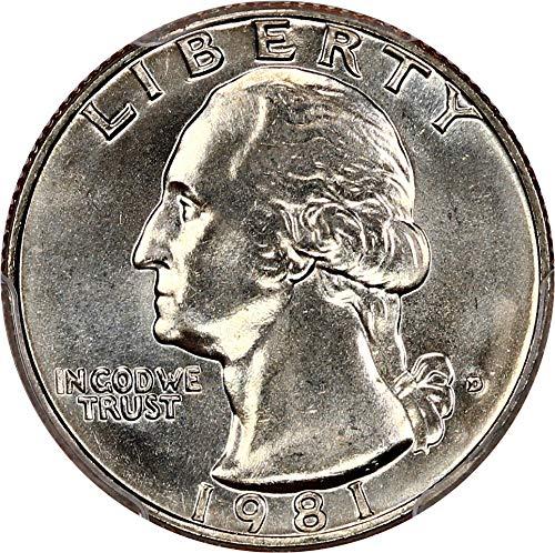 Washington Quarter MS66 | Spectacular Savings | CoinMapsUSA com