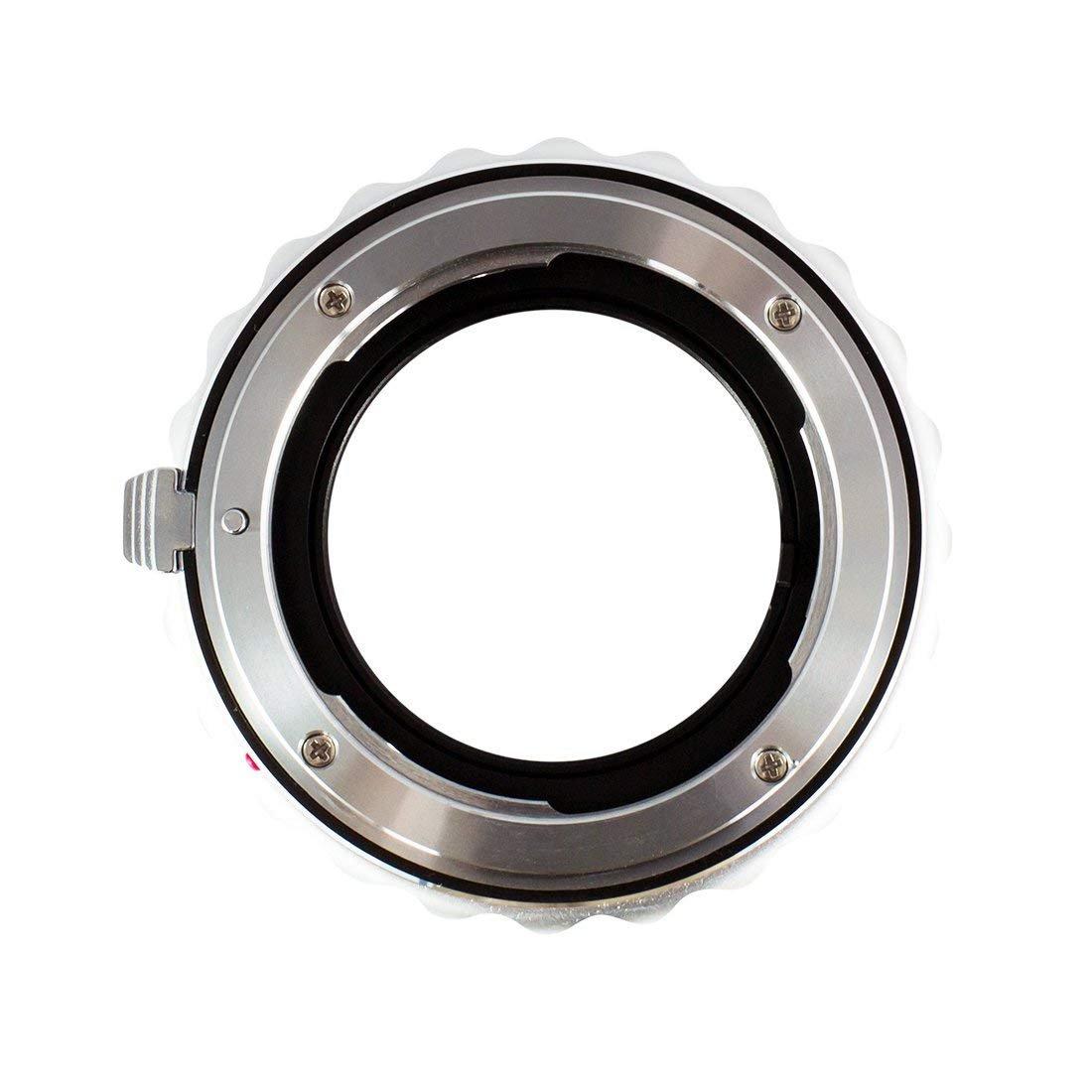 et Les bo/îtiers Fujifilm de Gamme X QBM Bague dadaptation pour objectifs : Compatible avec Les dobjectifs Rollei SL35 Gobe