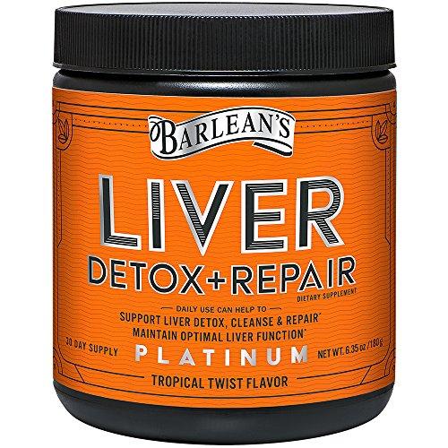 Barlean's Organic Oils Liver Detox & Repair, Tropical Twist, 6.35 Ounce (Organic Liver)