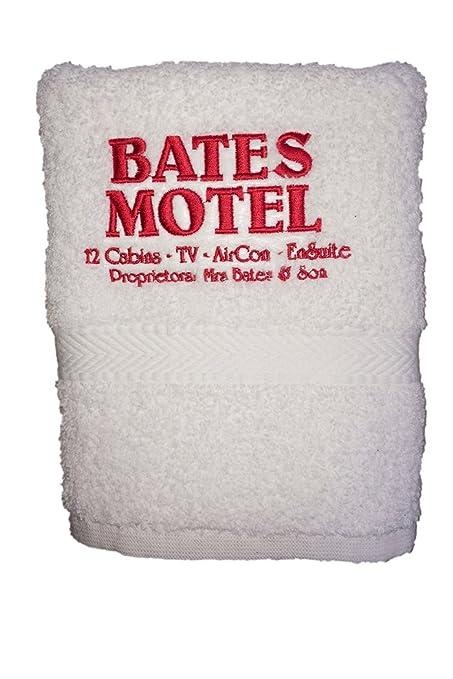 Bates Motel toalla de mano bordado Psycho inspirado Película