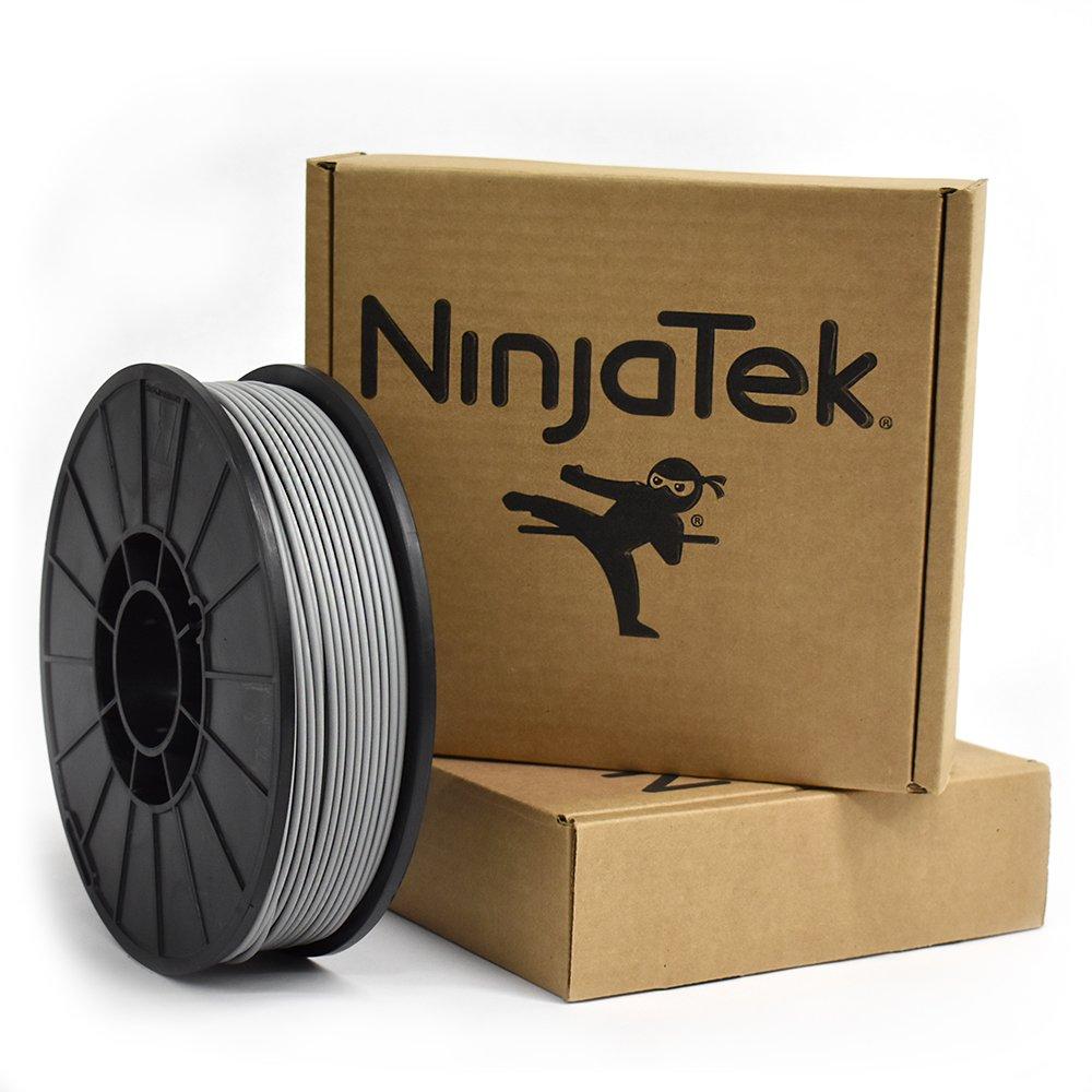 Gray 1kg Steel NinjaTek 3DCH14129010 NinjaTek Cheetah TPU Filament Pack of 1 3.00mm TPE
