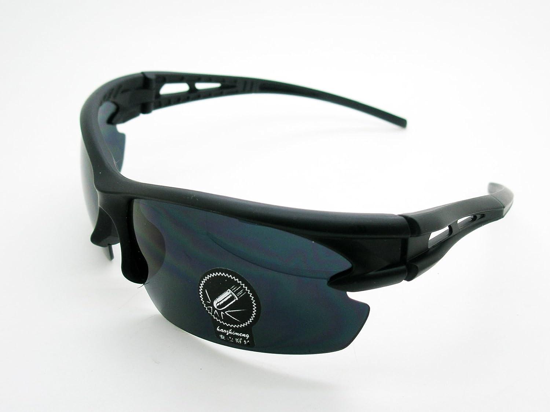 Gafas de Sol Uv 400 Deportivas Ciclismo Polimero de Carbono con Estuche Mtb Bicicleta 4077Bn