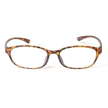 23dc5d434455 MIDI Colors Blue Light Blocking Oval Reading Glasses for Women (M-210) Blue