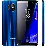 HOMTOM S7  4G LTE Smartphone 5.5-Zoll HD 18: 9 Vollbill, Android 7.0 Quad Core 3GB RAM+32 GB ROM, 8MP Frontkamera 13MP + 2MP Hauptkamera 2900mAh Akku Fingerabdruck, Dual SIM Ohne Vertrag