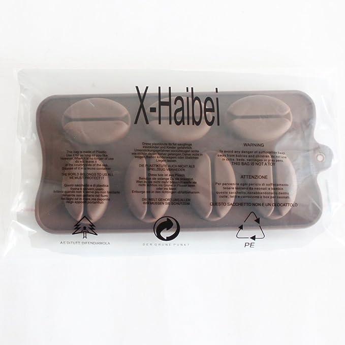 Amazon.com: x-haibei 3d frijoles Ice Cube Jabón Candy yeso ...
